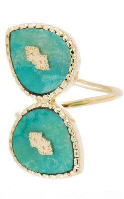 oma gemstone ring turquoise wish paris jewellery