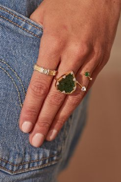 lima gemstone ring aventurine wish paris jewellery