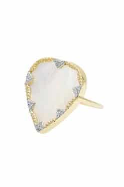 lima gemstone ring mother of pearl wish paris jewellery