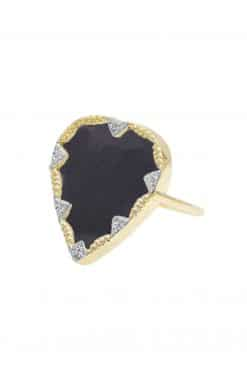 lima gemstone ring black onyx wish paris jewellery