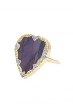 lima gemstone ring labradorite wish paris jewellery
