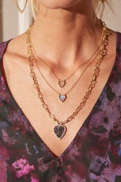 lima gemstone necklace labradorite wish paris jewellery