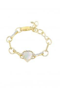 lima gemstone bracelet mother of pearl wish paris jewellery