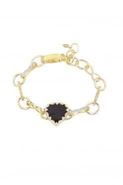 lima gemstone bracelet black onyx wish paris jewellery