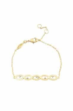 koyah chain bracelet white zircons wish paris jewellery