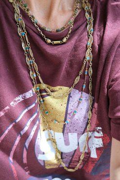 lucie bead necklace tourmalines wish paris jewellery