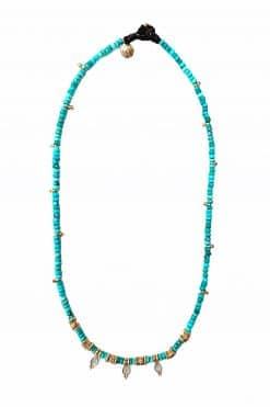 lula bead necklace turquoise and labradorite wish paris jewellery