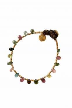 nina bead bracelet tourmaline wish paris jewellery