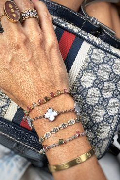 belu bead bracelet labradorite tourmalines wish paris jewellery