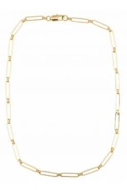 angele sautoir necklace solid gold wish paris jewellery