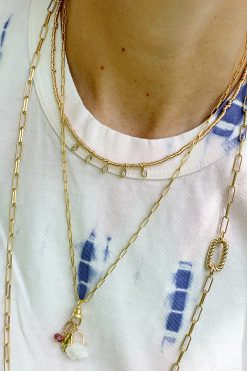 necklace chocker 5 marquises wish paris jewellery
