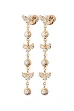 long earrings gold crystal mls 588 wish paris jewellery