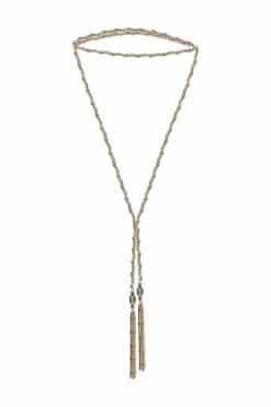 sautoir pompon antique gold 1b015 gold gold wish paris jewellery