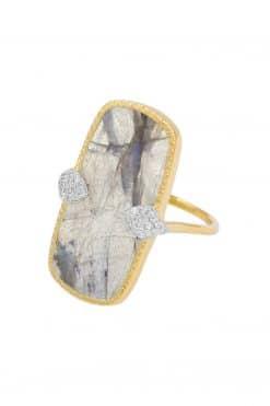 sangha maxi gemstone ring labradorite wish paris jewellery