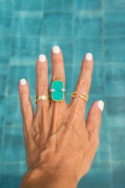 mali adjustable ring gold wish paris jewellery