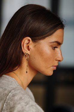 macha gemstone pendant earrings labradorite wish paris jewellery