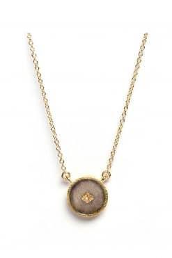 sanja gemstone necklace labradorite wish paris jewellery