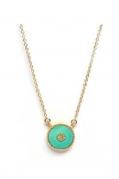 sanja gemstone necklace turquoise wish paris jewellery