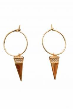 emilie mini hoop earrings zirconium wish paris jewellery