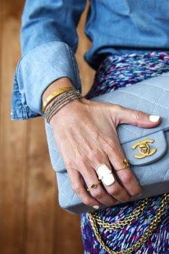 bracelet collier luxury gri gri silver grey mls 182 silver grey wish paris jewellery