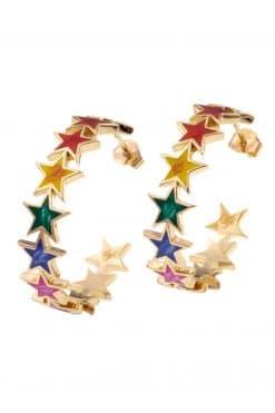 283 java hoop star enameled multicolor wish paris jewellery-