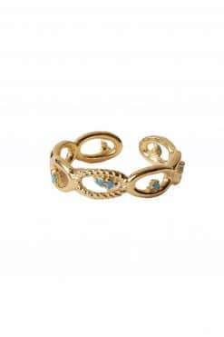 288 koyah adjustable rings turquoise wish paris jewellery 1