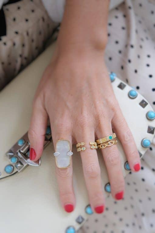 tara adjustable rings turquoise wish paris jewellery 2