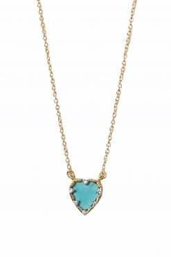 290 lima gemstone necklace turquoise wish paris jewellery 1