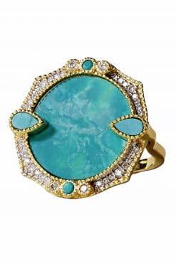 291 janih gemstone ring turquoise wish paris jewellery 1