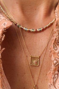 sriphala bead necklace tourmaline garnet tityaravy wish paris jewellery