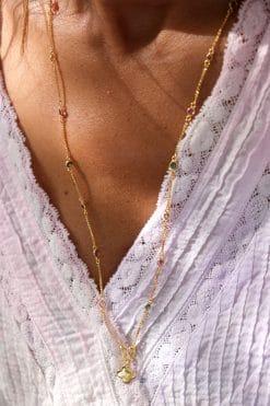 salee necklace tourmaline tityaravy wish paris jewellery