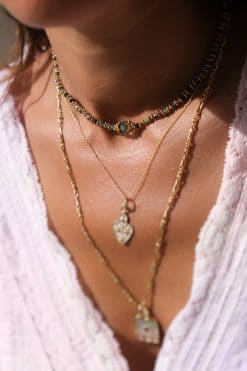 adhiya bead necklace ruby zoisite tourmaline tityaravy wish paris jewellery